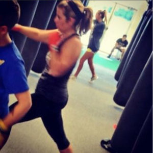 kick boxing video